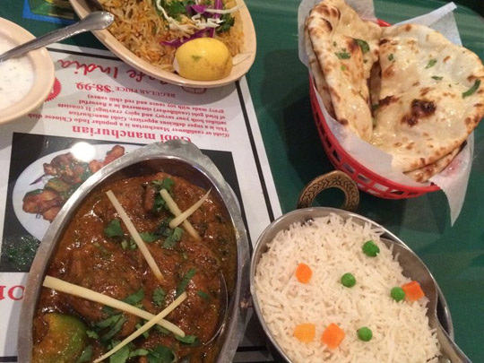 Cafe India | Delicious Food